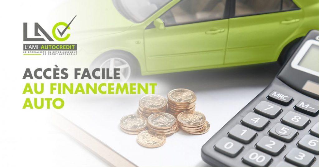 accès facile au financement auto