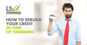 Rebuilt your credit
